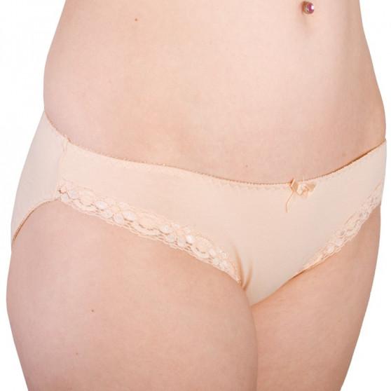 Dámské kalhotky Molvy tělové s krajkou (MD-750-KEB)