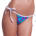 Dámske Plavky 69SLAM Nohavičky Triangle Flamingo Blue