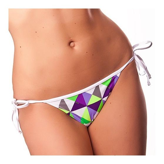 Dámské Plavky 69SLAM Kalhotky Triangle Metric Green