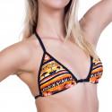 Dámske Plavky 69SLAM Horný Diel Triangle Savana Orange