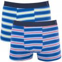 2PACK pánske boxerky Molvy viacfarebné (KP-043-BEU)