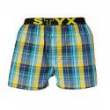 Pánske trenky Styx športová guma viacfarebné (B514)