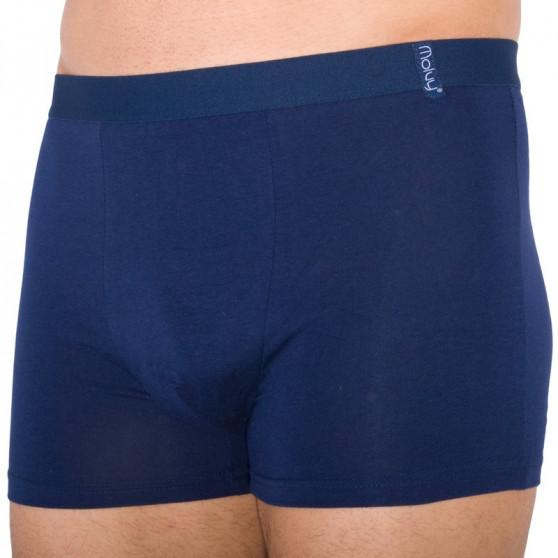 2PACK pánské boxerky Molvy tmavě modré (KP-042-BEU)