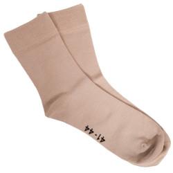 Ponožky Gino bambusové béžové (82000)