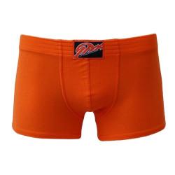 Pánské boxerky Styx klasická guma oranžové (Q661)