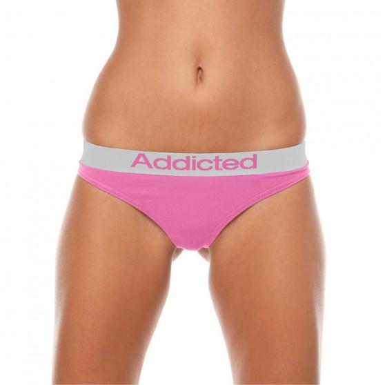 2pack dámská tanga Addicted bílá růžová