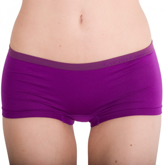 Dámské kalhotky Calvin Klein fialové (QD3546E-4VI)