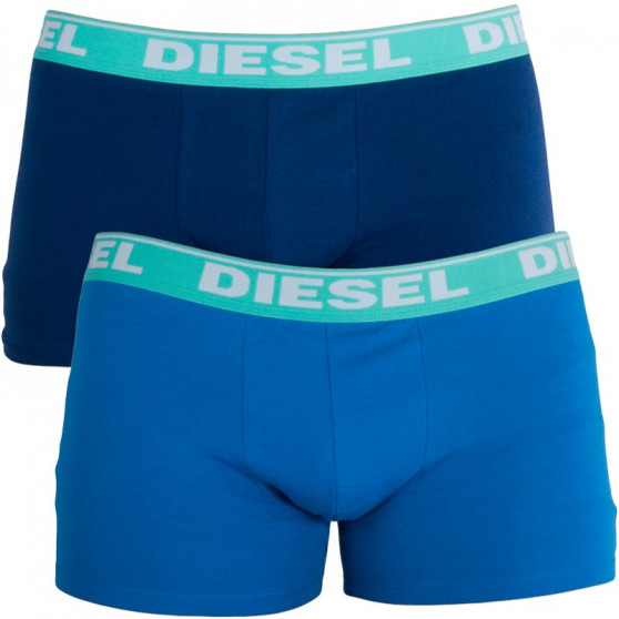 2PACK pánské boxerky Diesel modré (00S9DZ-0GAFM-12)