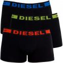 3PACK pánske boxerky Diesel čierne (00CKY3-0BAOF-01)