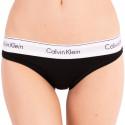 Dámske nohavičky Calvin Klein čierne (F3787E-001)