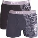 2PACK pánske boxerky UNCS Angelo nadrozmer