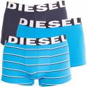 3PACK pánske boxerky Diesel modré (00SAB2-0PAPV-03)
