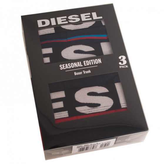 3PACK pánské boxerky Diesel vícebarevné (00SAB2-0PAPV-02)
