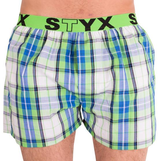 Pánské trenky Styx sportovní guma vícebarevné (B610)