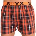 Pánske trenky Styx športová guma viacfarebné (B507)
