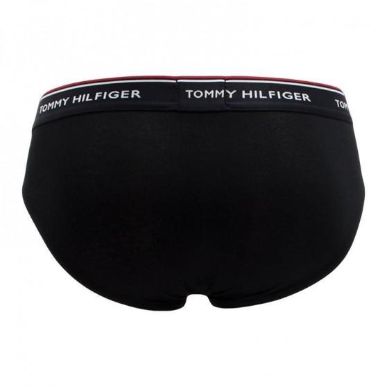 3PACK pánské slipy Tommy Hilfiger černé (1U87903766 990)