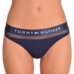 Dámská tanga Tommy Hilfiger tmavě modrá (UW0UW00064 416)