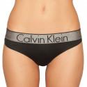 Dámska tangá Calvin Klein čierna (QF4054E-001)