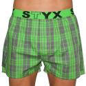 Pánske trenky Styx športová guma viacfarebné (B509)