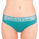 Dámska tangá Calvin Klein zelená (QF4054E-1MZ)