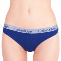 Dámska tangá Calvin Klein modrá (QD3539E-SX1)