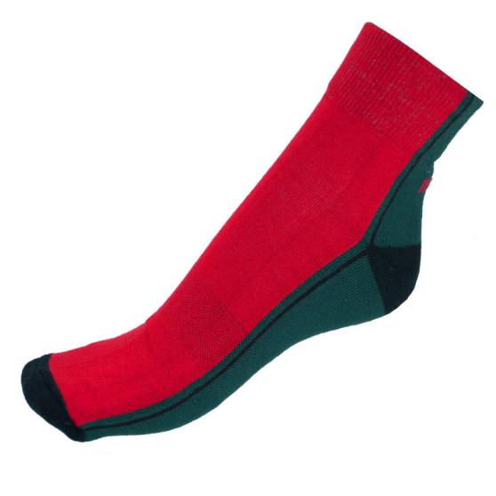 Ponožky Infantia Streetline červeno zelené