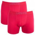 2PACK pánske boxerky Levis červené (951007001 072)