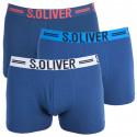 3PACK pánske boxerky S.Oliver modré (26.899.97.4229.12C1)