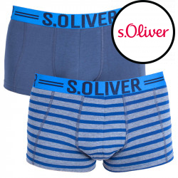 2PACK pánské boxerky S.Oliver vícebarevné (26.899.97.4228.14B2)