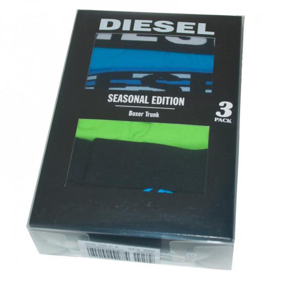 3PACK pánské boxerky Diesel vícebarevné (00SAB2-0JARC-01)