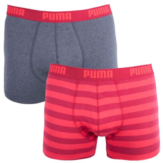 2PACK pánské boxerky Puma vícebarevné (651001001 072)