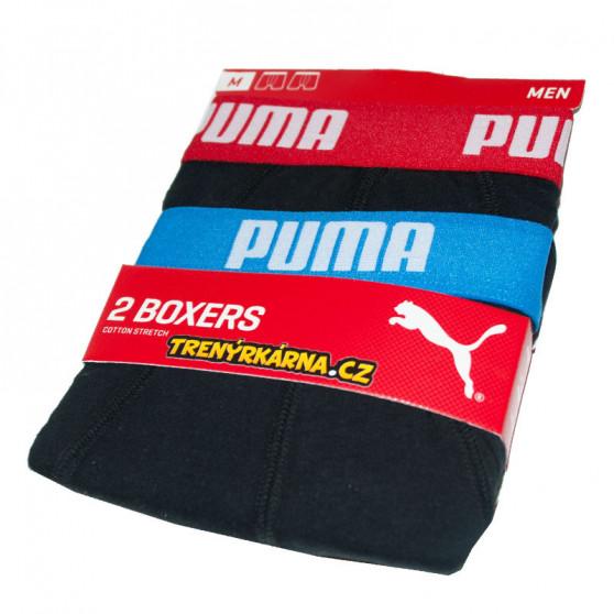 2PACK pánské boxerky Puma černé (521015001 505)
