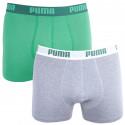 2PACK pánske boxerky Puma viacfarebné (521015001 075)