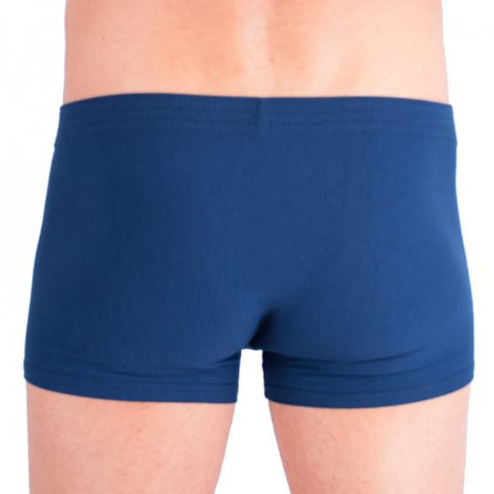 Pánské boxerky Styx klasická guma tmavě modré (Q664)