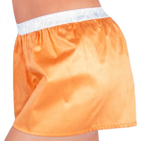 Dámské trenýrky Represent solid orange bílá guma