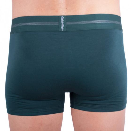 Pánské boxerky Calvin Klein tmavě zelené (NB1483A-KNG)