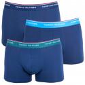 3PACK pánske boxerky Tommy Hilfiger tmavo modré (1U87903842 358)