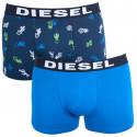 2PACK pánske boxerky Diesel viacfarebné (00S9DZ-0SAQD-03)