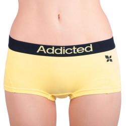 Dámské kalhotky Addicted žlutá