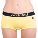 Dámske nohavičky Addicted žltá