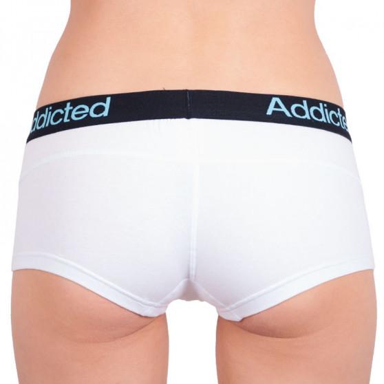 Dámské kalhotky Addicted bílá modrá
