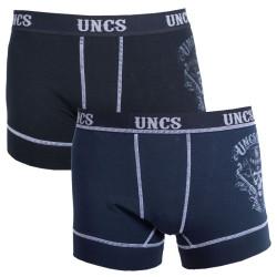 2PACK pánské boxerky UNCS Revolver nadrozměr