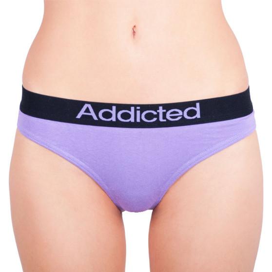 Dámská tanga Addicted fialová