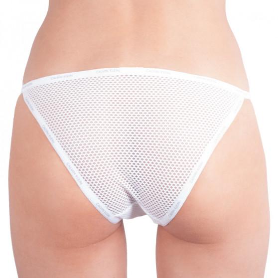 Dámské kalhotky Calvin Klein bílé (QF4628E-100)