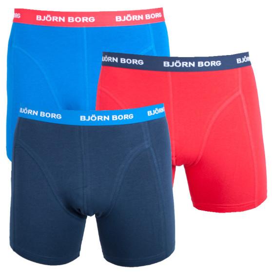 3PACK pánské boxerky Bjorn Borg vícebarevné (9999-1028-71191)