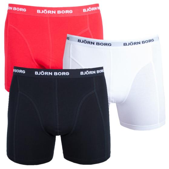 3PACK pánské boxerky Bjorn Borg vícebarevné (9999-1024-40011)