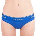 Dámska tangá Calvin Klein modrá (F3786E-PZ6)