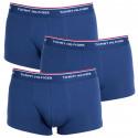 3PACK pánske boxerky Tommy Hilfiger tmavo modré (1U87903841 409)