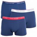 3PACK pánske boxerky Tommy Hilfiger tmavo modré (1U87903842 904)