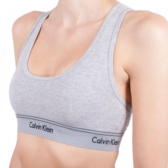 Dámská podprsenka Calvin Klein šedá (QF4522E-020)